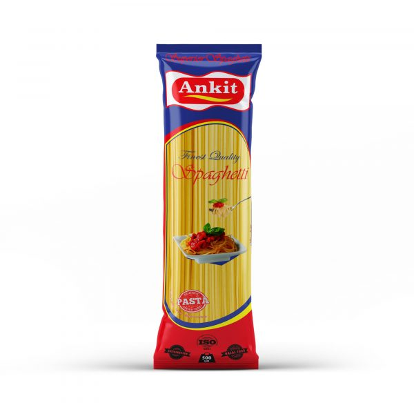 Pasta spaghetti Ankit 500 gm brand | Hot price