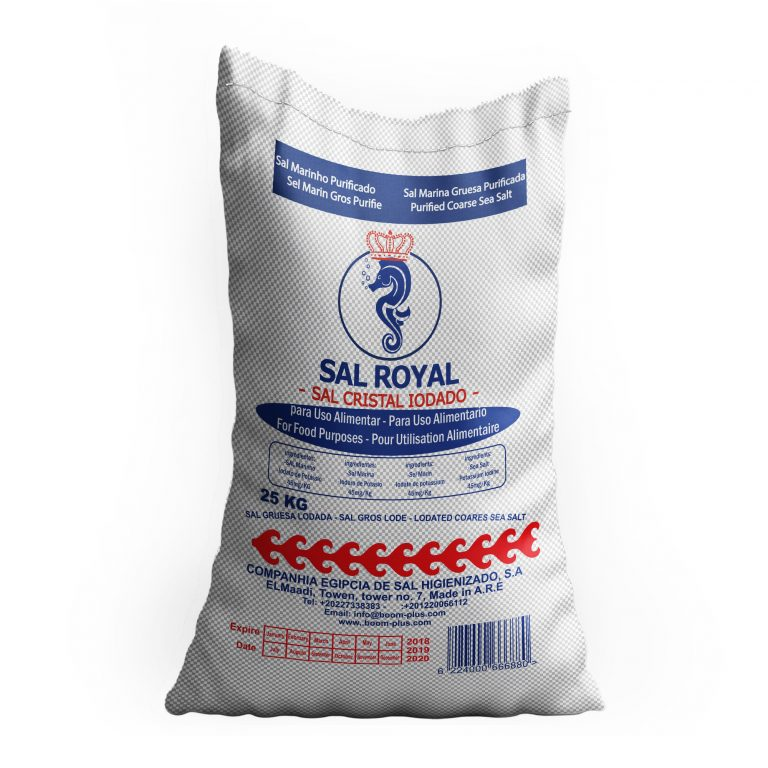 High Quality Kitchen Salt 25 KG Sal Royal Brand
