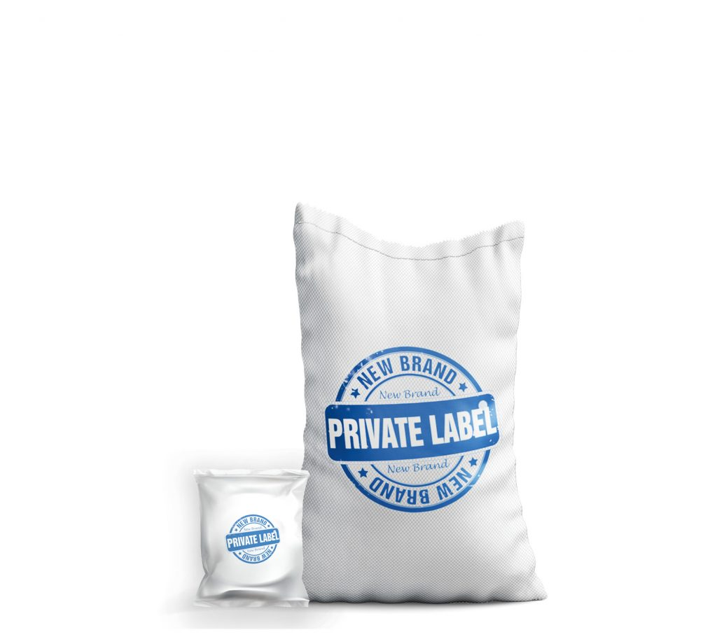 bags of salt written private label
