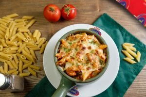 oven penne pasta